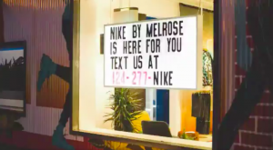 nike flagship services