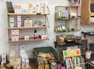 Section cosmétique de la boutique