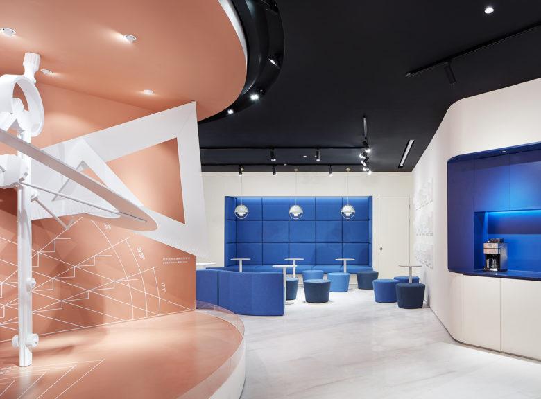 A Guangzhou, en Chine, Leaping Creative a conçu un espace expérientiel de 200 m² pour la marque de meubles personnalisables Suofeiya