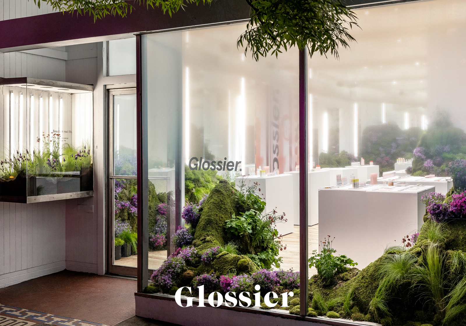 glossier pop up store seattle