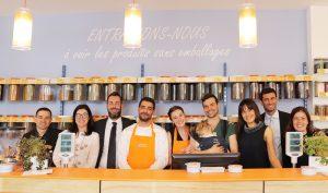 L'équipe de la boutique parisienne NEGOZIO LEGGERO