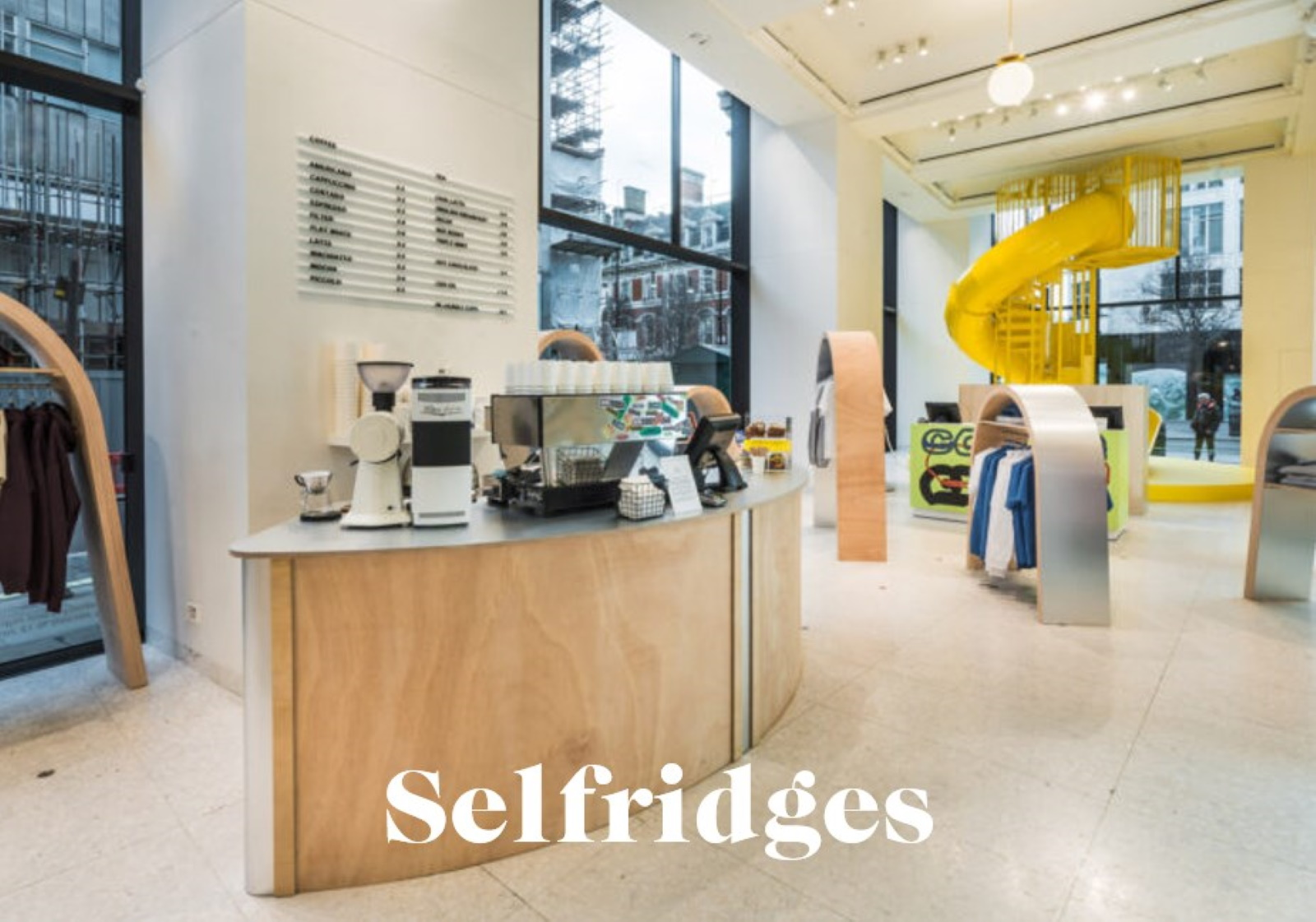 pop-up selfridges