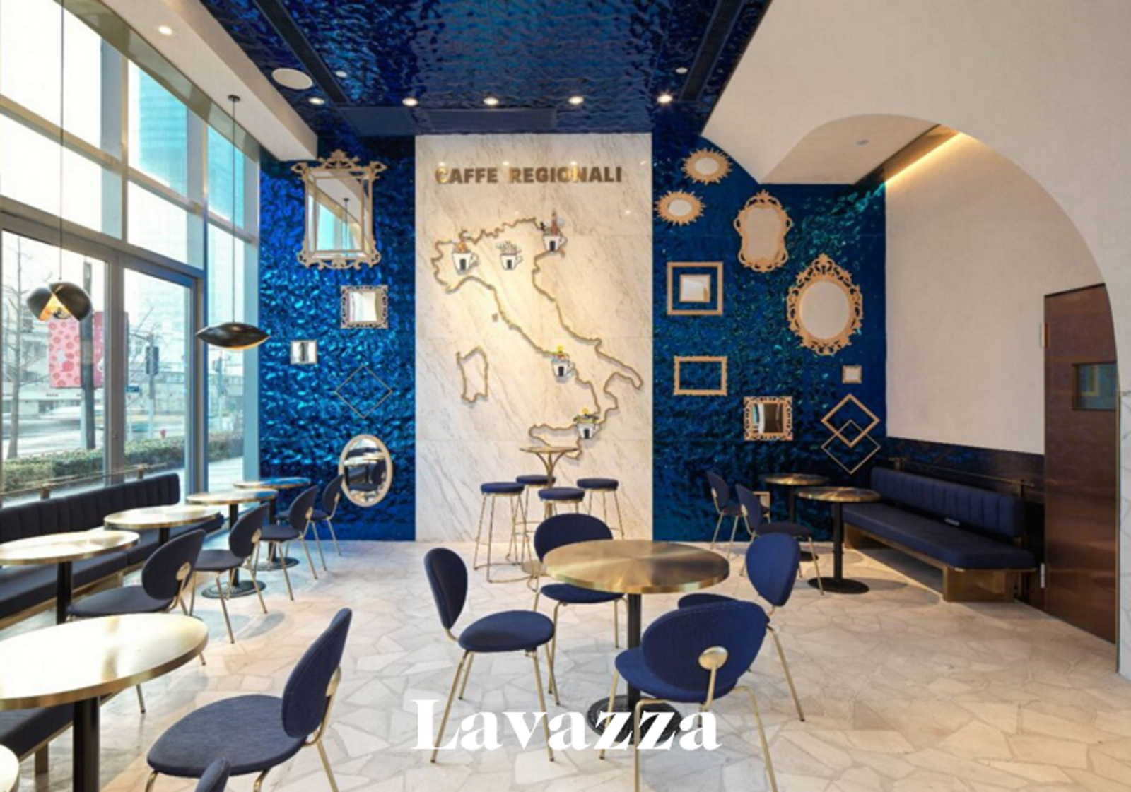 lavazza shanghai store tour missions mmm
