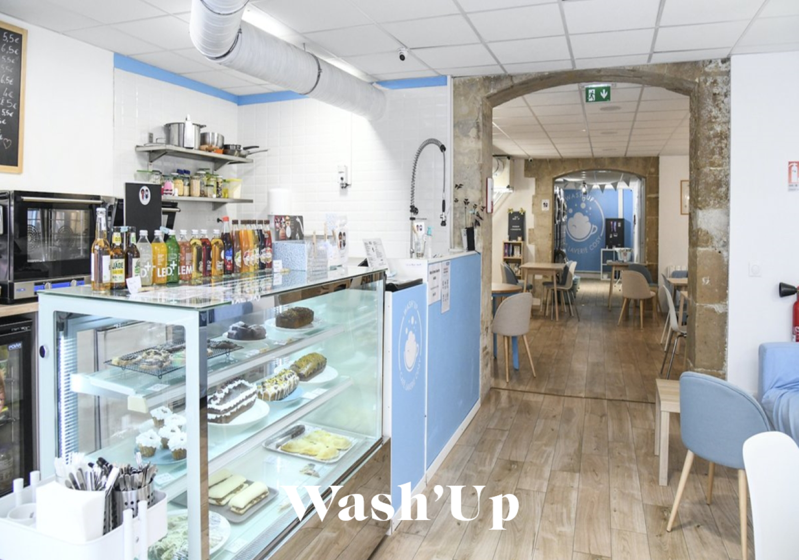 Wash up café retail tour paris missions mmm 1