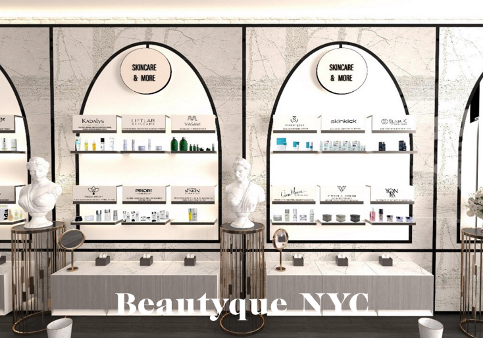 Beautyque NYC retail tour beauté missions mmm 0
