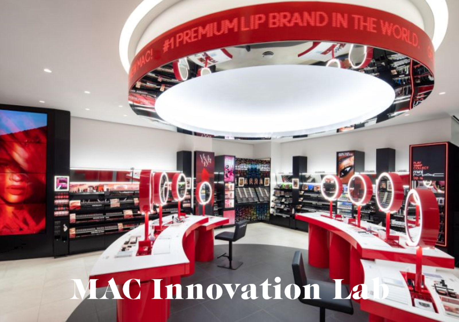 Mac cosmetics innovation lab retail tour beauté missions mmm 0