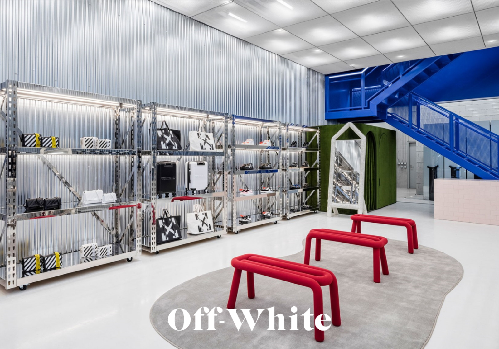 Off white retail design tour missions mmm 0